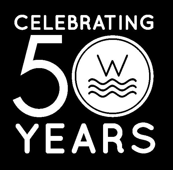 Celebrating 50 Years logo